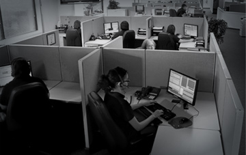 Alarm monitoring call center